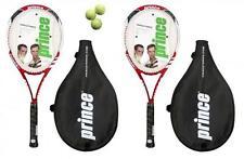 2 x Prince Triple Force Power Ti Tennis Rackets + 3 Balls RRP £170