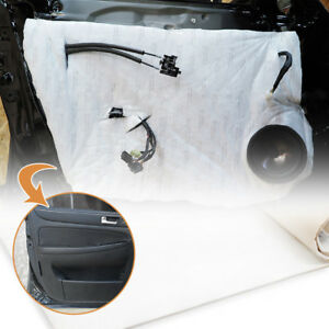 """Noise Protection Audio Sound Absorption Thinsulate Mat 39 x 20"""" for RENAULT Car"""