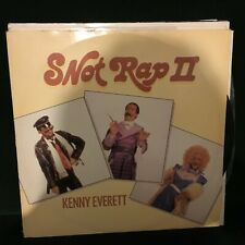 "KENNY EVERETT SNOT RAP 2 1985 UK TV COMEDY NOVELTY POP 12"" VINYL"
