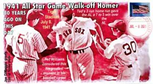COVERSCAPE computer designed 80th Ted Williams walk-off All Star game HR cover