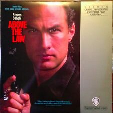 Above The Law -  Laserdisc  Buy 6 For Free Shipping