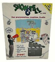 VINTAGE Show & Tell Animation Creation DOS Software from Radio Shack SEALED NOS