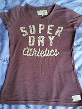 Superdry No Pattern Crew Neck Regular T-Shirts for Women