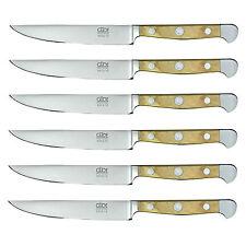 Güde X313/12 Alpha Olive Steakmesser 6 Stück