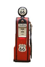 Tanksäule Zapfsäule Gasoline Höhe155cm Dekoration mit beleuchtetem Globe Nr.23