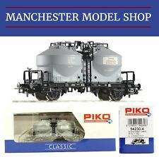 Piko 54230-4 HO 1:87 Zementsilowagen Uce 9120 Cement Wagon DR Era IV NEW BOXED