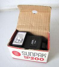 SUNPAK SP200 FLASH ELETTRONICO