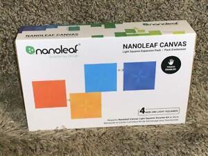 NANOLEAF Canvas – 4 Light Panel Expansion Pack - NL29-0001SW-4PK