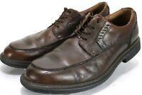 Clarks Unstructured Men's $90 Dress Shoes Size 8.5 Leather Brown