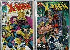 Uncanny X-Men #274 #275 Giant Size      NM    ref:A3.369