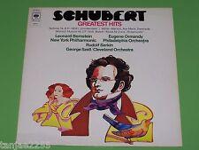 Schubert - Bernstein Ormandy Serkin Szell - Greatest Hits - CBS LP