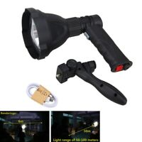 8000LM XM-L T6 LED 110mm lens Pistol Light Flashlight Hunt Mount Rechargeable K