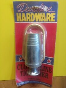 Duraline Metal  Clothesline Tightener New Old Stock Made in USA