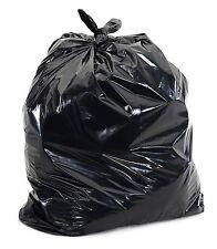 50 bolsas de basura comercial 55 GAL (approx. 208.20 L) Grande Pesado Deber De Basura Jardín, 1.5 mil