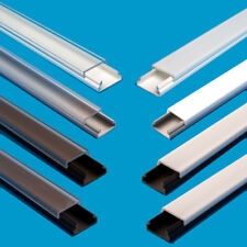 2M (6.6 ft) PVC channel for LED Strip Light with Cover profile