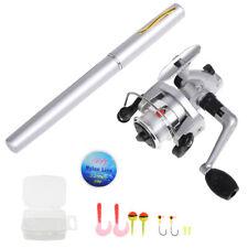 Pen Fishing Rod and Reel Combo Set Mini Telescopic Pocket Fishing Rod E8G2