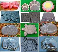 Concrete Mold DECORATIVE Stepping Stone Mold ABS plastic garden path decor