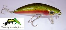 mustang minnow pesce artificiale pesca spinning luccio black bass mg018 71