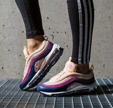 "Nike Air Max 97 ""Crimson Tint"" Ladies Trainers UK 8.5 Genuine Blue  (921733 802)"