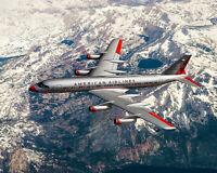 AMERICAN AIRLINES CONVAIR 990 CORONADO 8x10 SILVER HALIDE PHOTO PRINT