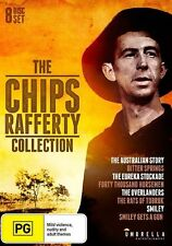 THE Chips Rafferty COLLECTION (DVD, 2015, 8-Disc Set) AUSTRALIAN MOVIES