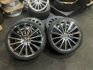 "Ex Display 20"" Mercedes AMG Turbine style Alloy Wheels 2453520 2753020 Tyres"