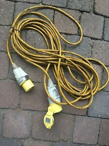 110v extension lead With 32amp Plug (ref 2)