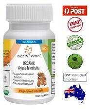 ORGANIC Terminalia Arjuna 500mg Vegan Capsules - Heart Health - AU Stock