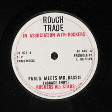 ROCKERS ALL STARS: Pablo Meets Mr. Bassie 45 (UK) Reggae