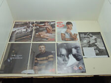 Lot of 5 Mint Print Ads Posters David Beckham H&M Modern Essentials Intimately