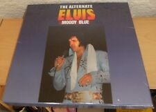 "ELVIS PRESLEY 10"" LP 7"" + CD ""THE ALTERNATE MOODY BLUE"" 2017 HEPCAT BLACK VINYL"