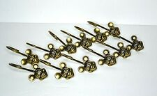 Antique Brass Disney Mickey Mouse Shower Curtain Hooks Set of 12