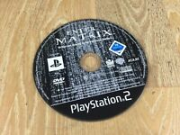 Enter the Matrix (Sony PlayStation 2, 2003) (PS2) *DISC ONLY*