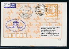 98040) easy jet FISA tan-LP Berlin-ginebra suiza 23.4.2009, Gau brasil