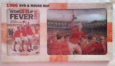 New DVD & Mouse Mat Gift Set 1966 World Cup ENGLAND-Bobby Moore