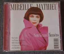 Mireille Mathieu, son grand numero - best of + 2 inédits, CD