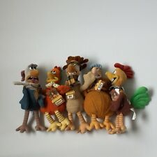 Chicken Run Collectable Plush Soft Toy Bundle Dreamworks 1999 With Tags