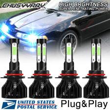 8000K blue LED Headlight Bulbs For Acura Integra 1994-2001 High Low Beam Qty 4