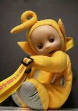 Vintage Yellow Teletubbies Laa-Laa Plush Back Pack Bag (3)