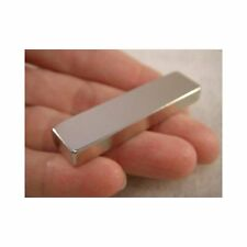 "Jeweler's TEST MAGNET Gold & Silver Tester 2""x1/2""x1/4"" - 29 lbs Pull Force N45"