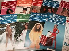 18  VARNS AND HUNTER MOTER SUPPLY BOOKLETS FROM AUTO PARTS STORE  1980'S
