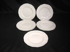 Wedgwood Strawberry & Vine Bone China Bread & Butter Plates Group of 7