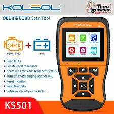 KS501 OBDII Scan Tool for Universal Vehicles Automotive Scanner Diagnostic Tool