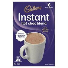 Cadbury Instant Hot Chocolate Blend 6x25g 6 pack