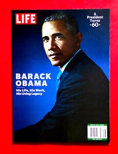 BARACK OBAMA HIS LIFE ,WORK & LIVING LEGACY  MAGAZINE 2021 A PRESIDENT TURNS 60