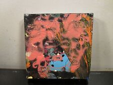 musk yai Art Original Abstract Painting 5x5 OOAK ready to hang