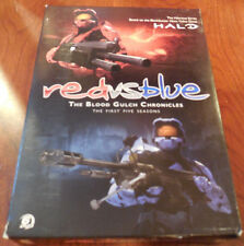 Red vs. Blue: The Blood Gulch Chronicles: The First Five Seasons DVD, 2010, 6-D