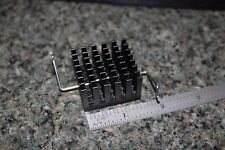 Heat Sink L:37.5mm W:35.75mm H:22.75mm with Z-Clip (pulled off mb chipsets) MC07