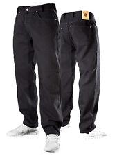 PICALDI Jeans Zicco Hose BLACK / SCHWARZ Saddle Fit Baggy Karotte Denim Style