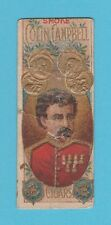 ADVERTISEMENT - ROBINSON & BARNSDALE - EXTREMELY RARE COLIN CAMPBELL CARD - 1897